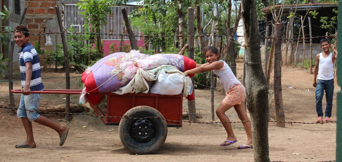 Kinder in der Barrio