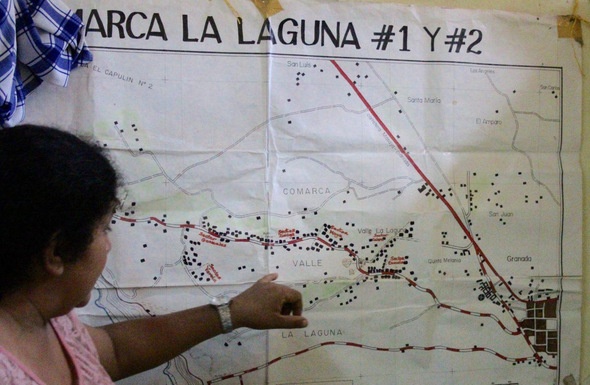 Karte der Barrios